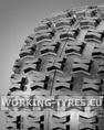 Snowblower Tyres - Carlisle Badlands 18x9.50-8 4PR TL