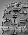 Snowblower Tyres - Carlisle Fast Trax 18x11.00-8 4PR TL