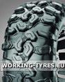 ATV, Quad Tyres - CST CU04 Clincher M+S 25x10.00R12 6PR 51M TL