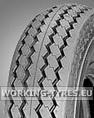Wheelbarrow Tyres - Duro HF222 5.30/4.50-6 6PR TT