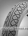 Moped Tyres - Heidenau K36 2 3/4-16 (20x2.75, 2.75-16) 43J TT