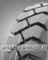 Forklift Air Tyres - KingsTire KT202 5.00-8 8PR TT