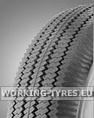 Wheelbarrow Tyres - KingsTire KT603 4.10/3.50-4 6PR TT