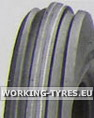 Hay Turning Tyres - KingsTire KT802 Set 3.50-6 4PR TT