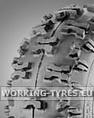 Snowblower Tyres - KingsTire KT805 4.10-6 2PR TL