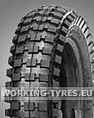 Mini-Bike Tyres - Qingda Q204 Cross 12 1/2x2 3/4 2PR TT