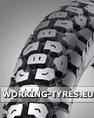 Enduro, Cross Tyres - Shinko SR244 Enduro 3.00-17 45P TT